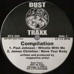 "Various - Dust Traxx Compilation VG+ - 12"" Single 1997 Dust Traxx USA - Chicago House"