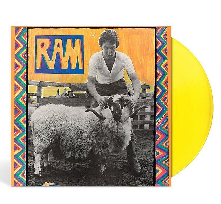 Paul And Linda McCartney Ram 1971
