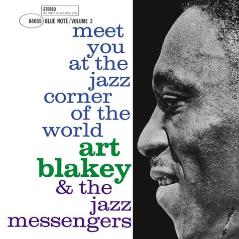 Art Blakey & The Jazz Messengers ‎– Meet You At The Jazz Corner Of The World (Volume 2) - New LP Record 2019 Blue Note Vinyl - Jazz / Hard Bop