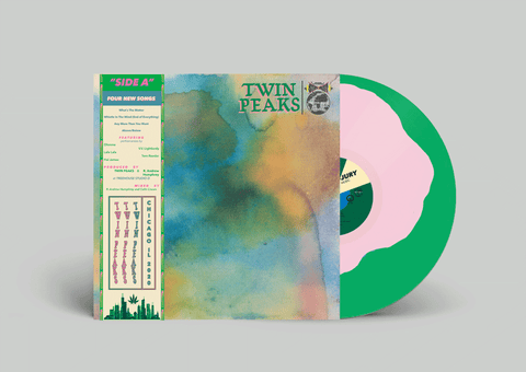 "(Pre-Order) Twin Peaks - Side A - New 10"" Ep Record 2020 Grand Jury Shuga Records Exclusive Watermelon Kush Colored Vinyl, Numbered & OBI - Garage Rock"