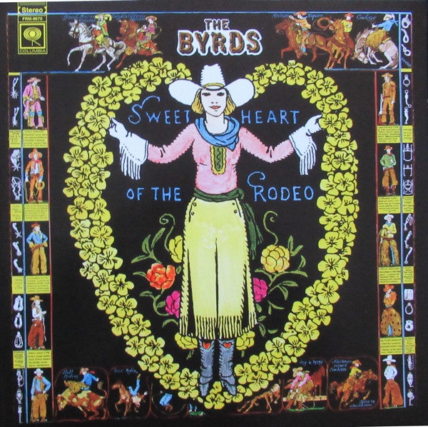 The Byrds ‎– Sweetheart Of The Rodeo (1968) - New LP Record 2018 CBS USA 180 gram Blue & Green Swirl Vinyl - Classic Rock / Country Rock