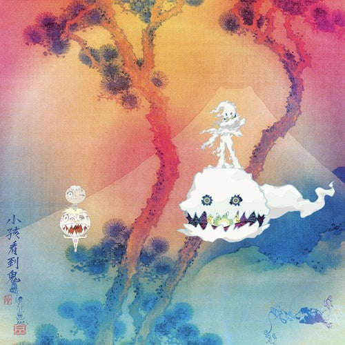 Kids See Ghosts (Kanye West & Kid Cudi) ‎– Kids See Ghosts - New Lp Record 2018 USA G.O.O.D. Music / Def Jam Vinyl - Hip Hop / Pop Rap