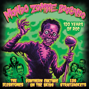 The Fleshtones / Southern Culture On The Skids / Los Straitjackets ‎– Mondo Zombie Boogaloo - New 2 LP Record 2013 Yep Roc USA Translucent Vinyl & Bonus CD - Garage Rock / Surf / Psychobilly