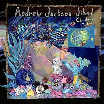 Andrew Jackson Jihad - Christmas Island - New Vinyl 2014 Side One Dummy Limited Edition Colored Vinyl Lp with Download - Folk-Punk / Holiday