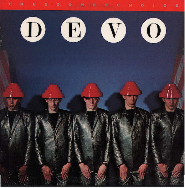 Devo - Freedom Of Choice - VG 1980 Stereo (Original Press WIth Matching Inner Sleeve) USA - Rock/New Wave