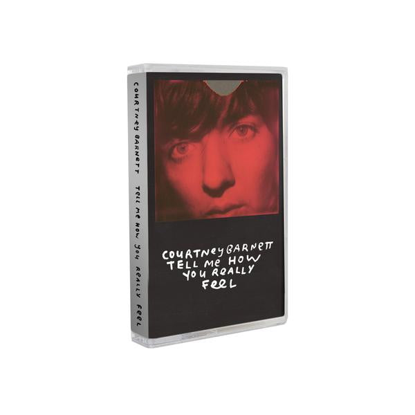 Courtney Barnett - Tell Me How You Really Feel - New Cassette 2018 Mom + Pop White Tape - Indie / Alt-Rock