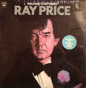 Ray Price ‎– Welcome To My World - VG+ 1971 Stereo 2 Lp Set - Country