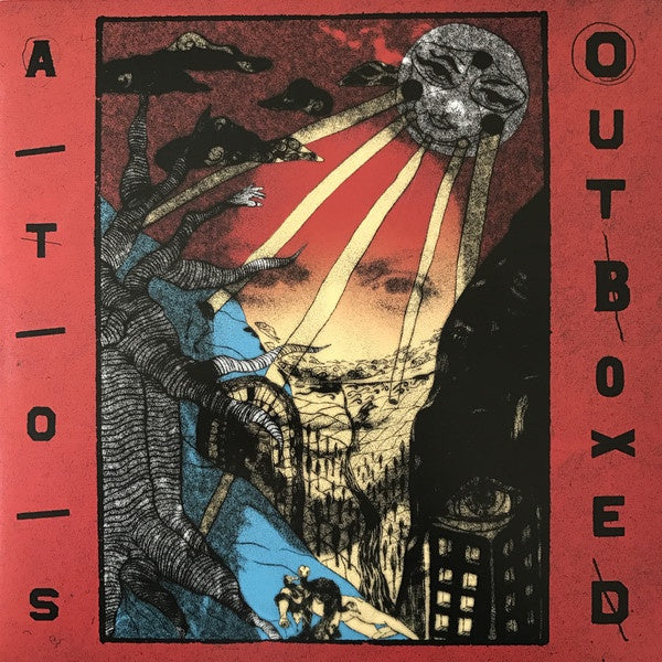 A/T/O/S ‎– Outboxed - New LP Record 2017 Deep Medi Musik UK Import Vinyl - Electronic / Dubstep / Downtempo