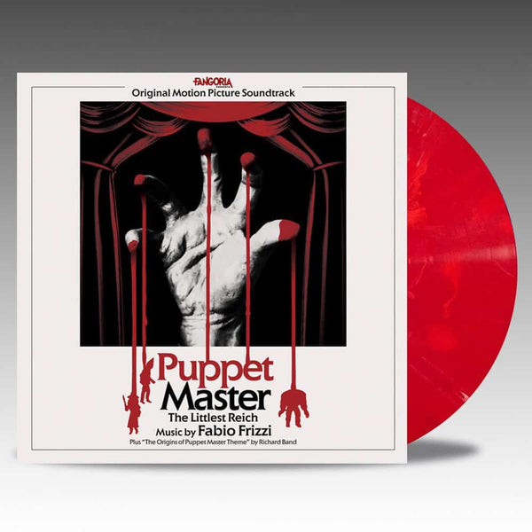 Fabio Frizzi - Puppet Master: The Little Reich - New Vinyl Lp 2018 Lakeshore Limited Edition 'Toulon's Bloody Revenge' Colored Vinyl - Soundtrack