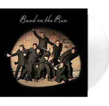 Paul McCartney ‎and Wings – Band on The Run (1973) - New Vinyl 2017 Limited Edition Capitol Records 180Gram Audiophile Reissue on White Vinyl with Original Poster and Download - Pop Rock