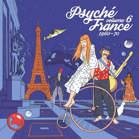 Various ‎– Psyché France 1960-70 Volume 6 - New Lp Record Store Day 2020 Warner Europe Import RSD Vinyl - Psychedelic Rock