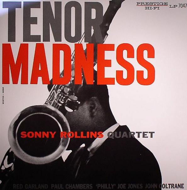 Sonny Rollins Quartet ‎– Tenor Madness - New Lp Record 2019 Prestige / Think Indie Exclusive Blue Vinyl - Jazz / Bop