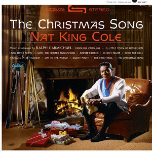 Nat King Cole ‎– The Christmas Song (1962) - VG+ 1970's Stereo USA - Holiday/Jazz