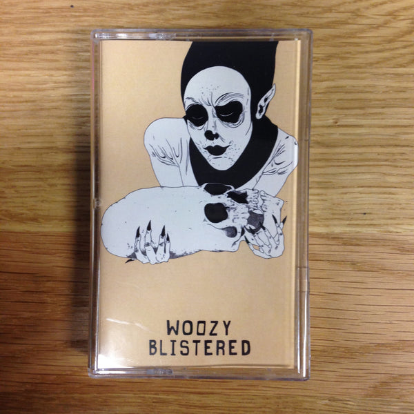 Woozy - Blistered - New Cassette - 2015 Community Records - Alt-Rock