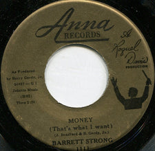 "Barrett Strong ‎– Money (That's What I Want) / Oh I Apologize VG- 7"" Single 45RPM 1960 Anna - R&B"