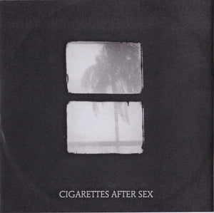 "Cigarettes After Sex - Crush / Sesame Syrup - New 7"" Vinyl 2018 Partison Pressing - Indie Rock / Ethereal"