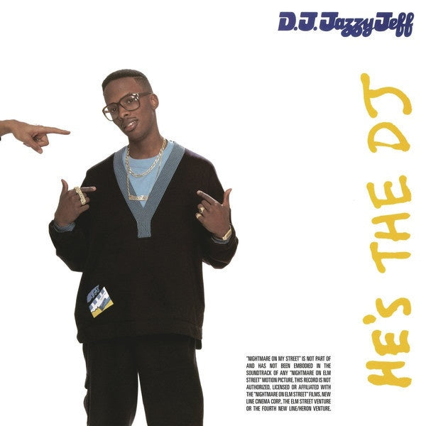DJ Jazzy Jeff & The Fresh Prince ‎– He's The DJ, I'm The Rapper - New 2 Lp Record 2017 USA Vinyl with Download - Rap / Hip Hop
