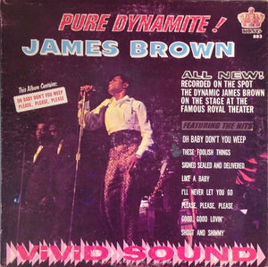 James Brown ‎– Pure Dynamite! - VG+ Lp Record 1964 King USA Original Vinyl Mono - Funk / Soul