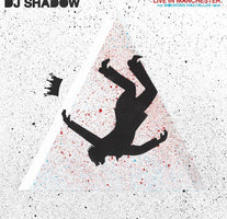 DJ Shadow ‎– Live In Manchester: The Mountain Has Fallen Tour - New Vinyl 2 Lp 2018 Mass Appeal Pressing with Booklet and Gatefold Jacket - Hip Hop / Electronica
