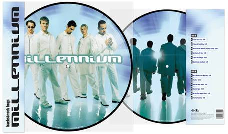 Backstreet Boys - Millennium (1999) - New Lp Record 2019 Jive USA Picture Disc Vinyl - Pop