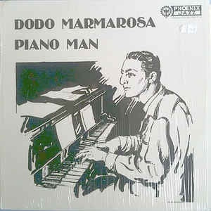 Dodo Marmarosa ‎- Piano Man - VG+ (Cover Has Wear) 1978 USA - Jazz