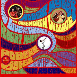 Albert Ayler ‎– In Greenwich Village (1967) - New Vinyl Record 2015 Impulse! 180Gram EU Gatefold Stereo Reissue - Free Jazz / Improvisation