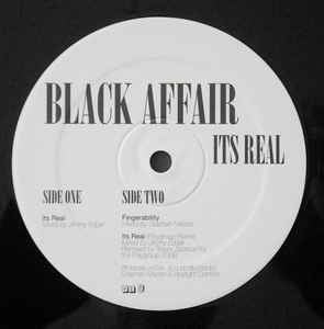 "Black Affair ‎– It's Real - Mint 12"" Single Record UK V2 Vinyl - Electro / Deep House"