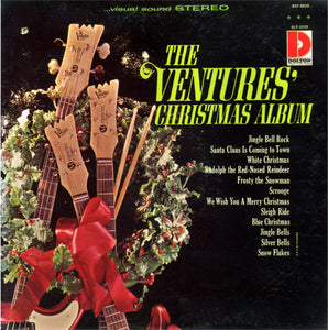 The Ventures ‎– The Ventures' Christmas Album - VG+ Lp Record 1965 Mono USA Original Vinyl - Holiday / Christmas / Rock