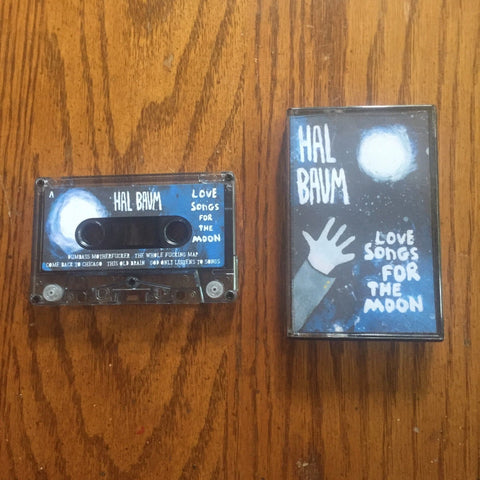 Hal Baum - Love Songs for the Moon - New Cassette 2019 Preserve Records USA Tape - Indie Folk