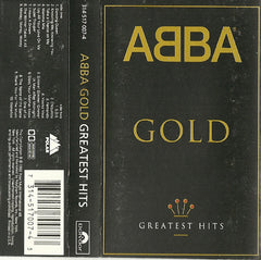 ABBA - Gold (Greatest Hits) VG+ - 1992 Polydor USA Cassette - Pop