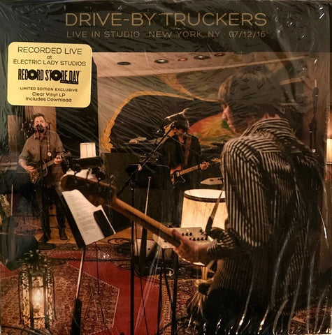 Drive-By Truckers - Live at Electric Lady , New York 07/12/16 - New Vinyl Record 2017 ATO Record Store Day Limited Edition of 3530 on Clear Vinyl w/ Download - Alt-Country / Alt-Rock / Americana