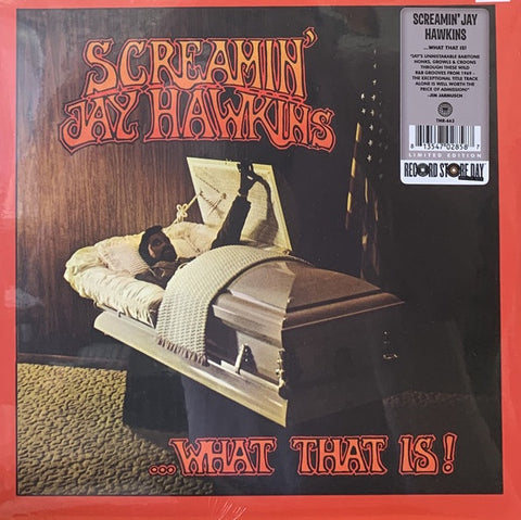 Screamin' Jay Hawkins ‎– ...What That Is! (1969) - New Lp Record Store Day 2020 Third Man USA Vinyl - Rock & Roll / Rhythm & Blues