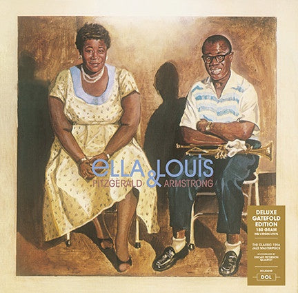 Ella Fitzgerald & Louis Armstrong ‎– Ella And Louis (1956) - New LP Record 2017 DOL Europe Import 180 gram Vinyl - Swing / Easy Listening