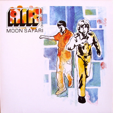 Air - Moon Safari - New Lp Record 2018 USA Indie Exclusive Phosphorescent Glow In The Dark Vinyl - Electronic / Downtempo