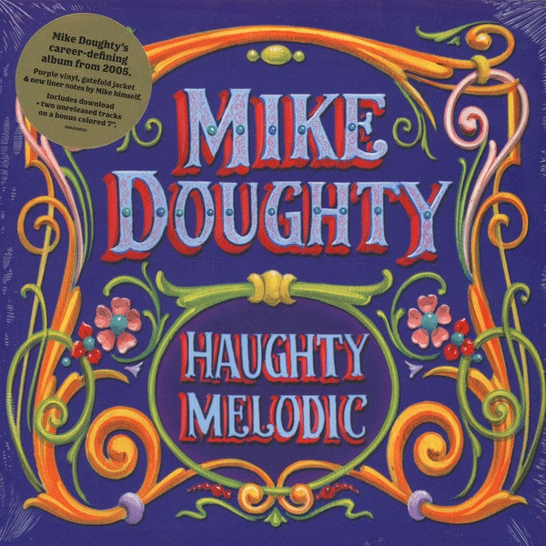"Mike Doughty ‎(Soul Coughing) – Haughty Melodic - New Vinyl 2016 ATO Records Pressing on Purple Vinyl with Bonus 7"" on Orange Vinyl, Gatefold Jacket and Download - Alt-Rock"