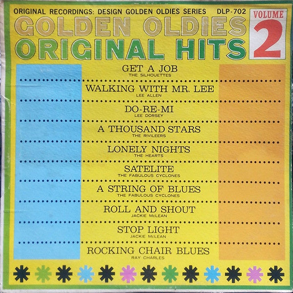 Various ‎– Golden Oldies Original Hits Volume 2 - New Lp Record 1962 Stereo Spectrum USA Original Vinyl - Soul / Rhythm & Blues