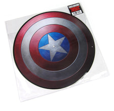 Alan Silvestri ‎– Music From Marvel Captain America: The First Avenger - New Vinyl Record 2015 Buena Vista Records 'Hot Topic Exclusive' Picture Disc - Soundtrack
