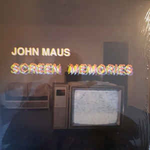 John Maus - Screen Memories - New Vinyl Lp 2017 Ribbon Music - Electronic / Synth-Pop