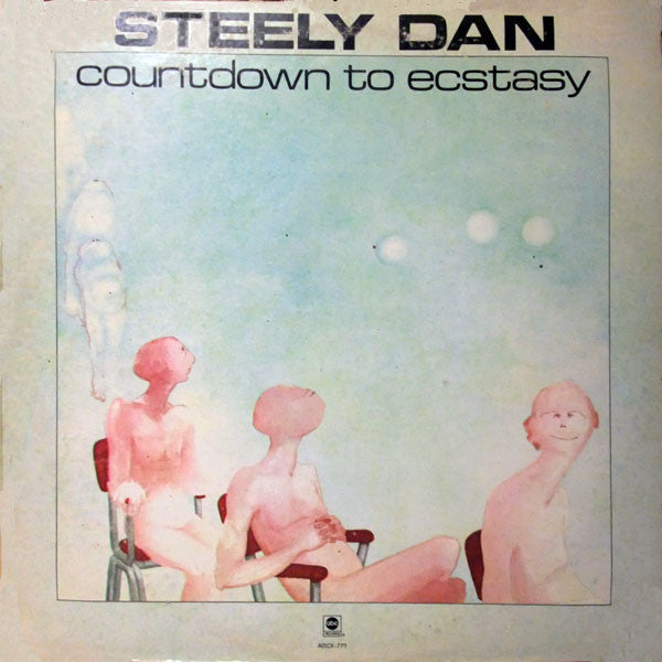 Steely Dan ‎– Countdown To Ecstasy - VG 1973 Stereo USA Original Press Black Label (With Insert) - Rock