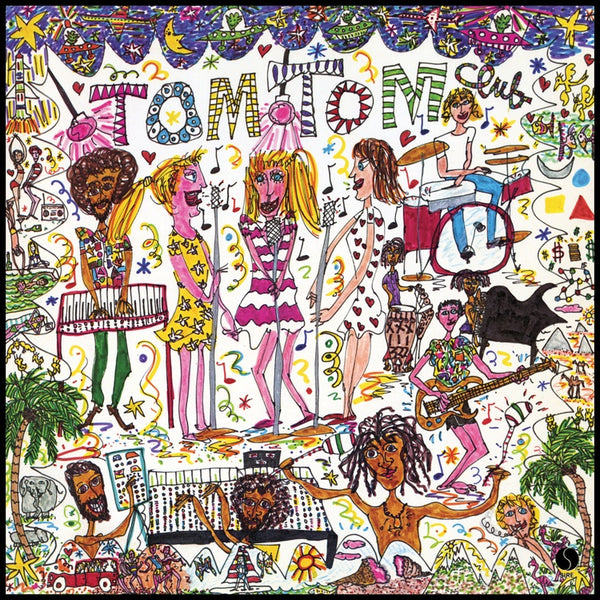 Tom Tom Club - Tom Tom Club (1981) - New Vinyl Lp 2019 Real Gone Music Limited Edition Reissue on White Vinyl - Synth-Pop / Disco / Electronica