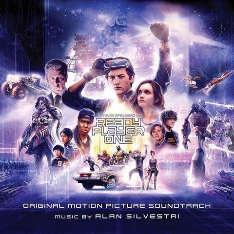 Alan Silvestri ‎– Ready Player One (Original Motion Picture) - New Vinyl 2 Lp 2018 Water Tower Music Pressing with Gatefold Jacket - Soundtrack