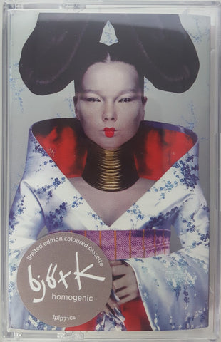 Björk ‎– Homogenic - New Cassette 2019 Limited Edition Color Tape Reissue UK Import - Electronic / Experimental