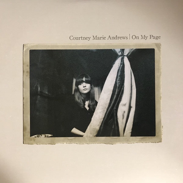 Courtney Marie Andrews - On My Page - New Vinyl Record 2017 Fat Possum Records Pressing - Indie Folk / Country