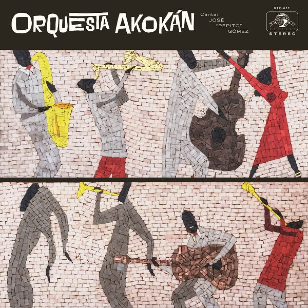 Orequesta Akokan - S/T - New Vinyl Lp 2018 Daptone Records Pressing on Colored Vinyl with Gatefold Jacket and Download - Latin Jazz
