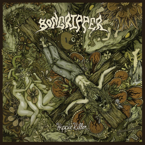 Bongripper - Hippie Killer - New LP Record 2019 Great Barrier Black Vinyl Pressing  (Limited to 100 Copies) - Chicago Doom Metal