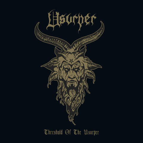 Usurper - Threshold Of The Usurper - New LP Record 2020 Back On Black Vinyl - Death Metal