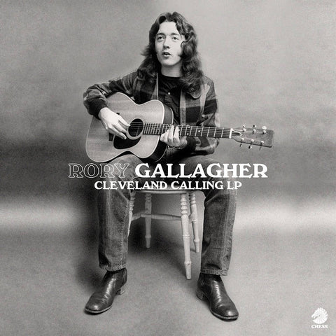 Rory Gallagher - Cleveland Calling - New LP Record Store Day 2020 Chess Vinyl - Classic Rock / Blues Rock
