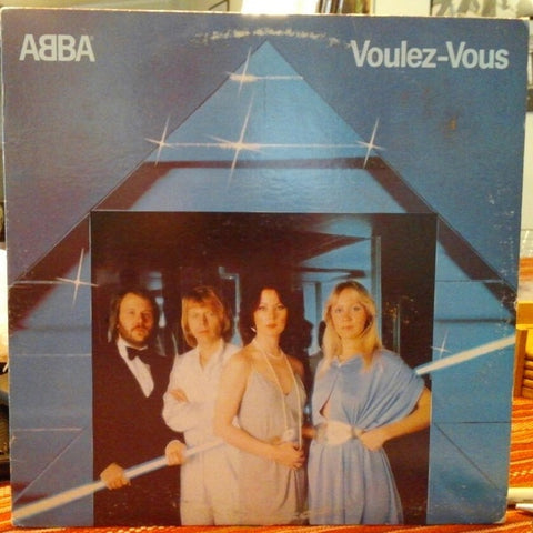 ABBA ‎- Voulez-Vous - VG+ Lp Record 1979 Atlantic USA Vinyl - Disco / Pop