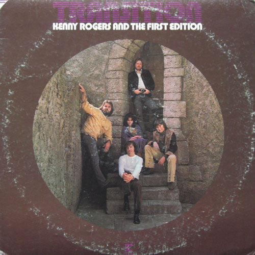 Kenny Rogers & The First Edition - Transition - VG+ 1971 Stereo Original Press USA - Rock/Country Rock