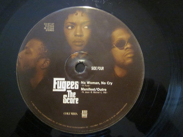 Fugees The Score - VG (NO Original Cover) 1992 USA 2 Lp Set Original Press - Hip Hop